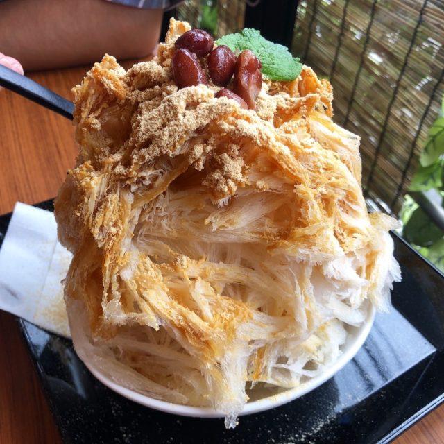 覚王山 散策途中の休憩に♪お惣菜屋さんが手がけるかき氷!
