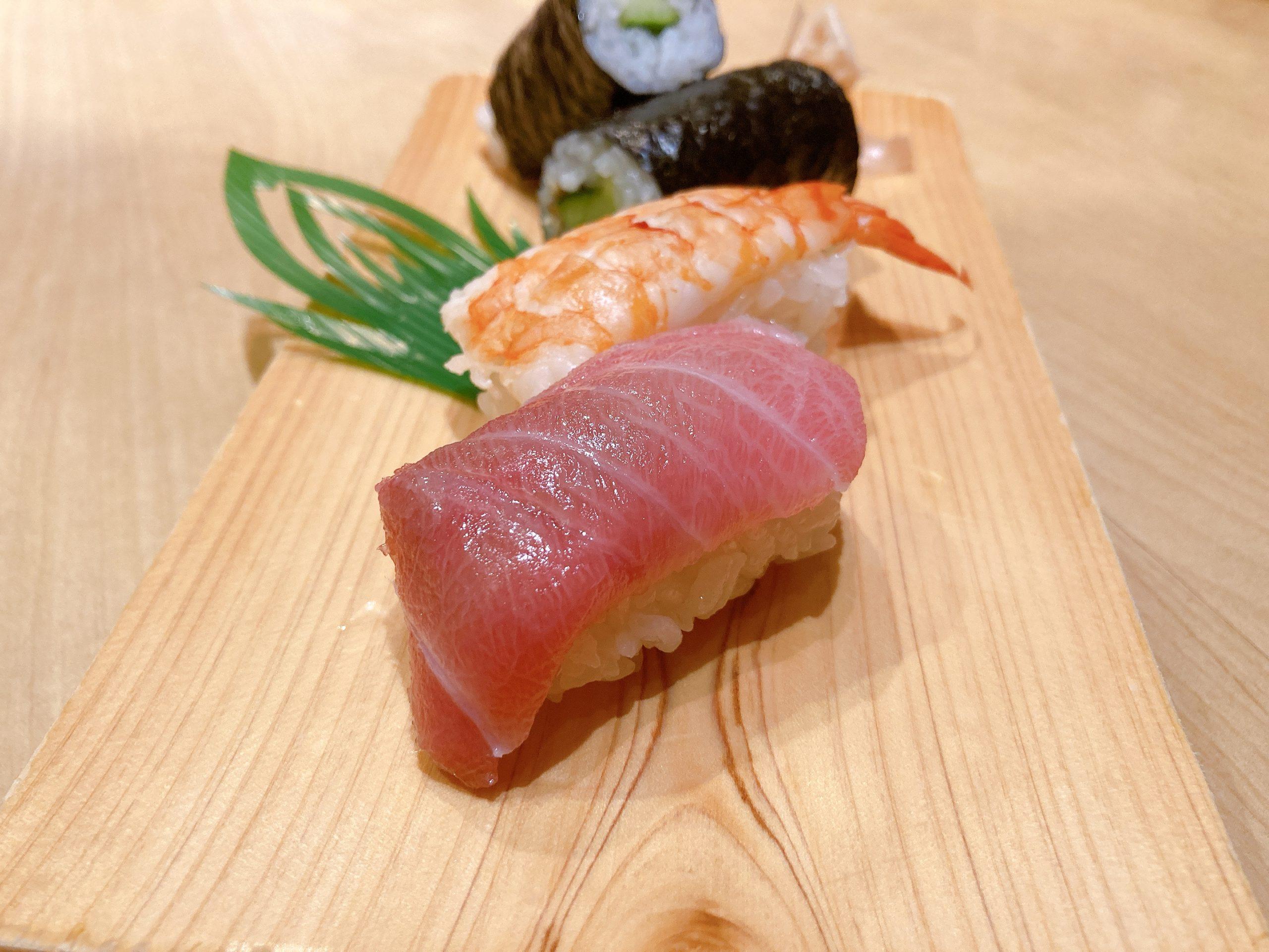 名古屋駅で寿司ディナー