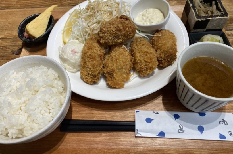 名駅|年中新鮮でプリップリの牡蠣が楽しめる駅チカでオシャレな海鮮バル