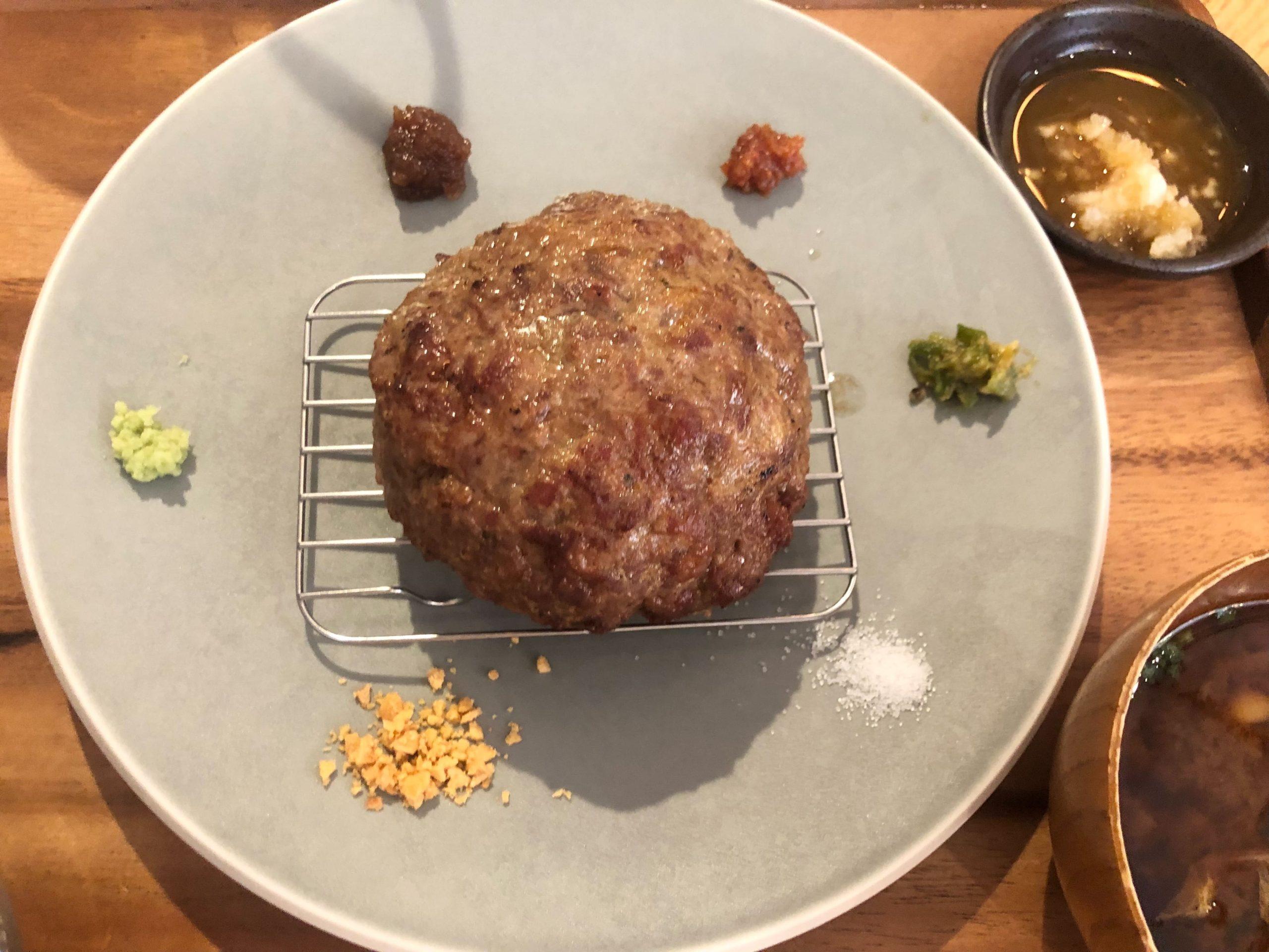 矢場町|ハンバーグは愛知牛100%!旨味たっぷりのこだわり挽き肉を使用したハンバーグ